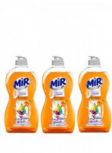 Mir Vaisselle Secrets de Cuisinier Bicarbonate & Ecorce d'orange - 500ml - Lot de 3 de la marque MIR image 0 produit