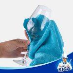 MR.SIGA chiffon nettoyant microfibre de quatre couleurs lot de 24, dimension: 32 x 32 cm -par MR.SIGA de la marque MR.SIGA image 2 produit