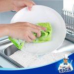 MR.SIGA chiffon nettoyant microfibre de quatre couleurs lot de 24, dimension: 32 x 32 cm -par MR.SIGA de la marque MR.SIGA image 3 produit