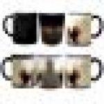 MUG MAGIQUE tasse en ceramique cafe - MADE in France - Livraison EXPRESS - PROMO - DEAD ZOMBIE WALKING de la marque THEcoque image 1 produit
