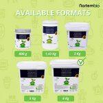 NortemBio Bicarbonate de Soude 6 Kg, Intrant de la Production Biologique, sans Aluminium, Qualité Supérieure, 100% Naturel. Développé en France. de la marque NortemBio image 1 produit