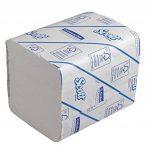 Papier Toilette Plié SCOTT* 36 8577-36 paquets de 300 feuilles blanches 2 plis de la marque Scott image 2 produit