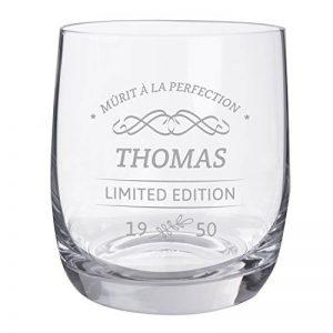 Personello® verre à whisky gravé, édition limitée [nom] et [année] personnalisé, verre à whiskey avec gravure, Idée cadeau anniversaire de la marque Personello image 0 produit