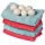 Pivica 6 pièces/Sacs de Laine sèche - Linge Organic, Recyclable Natural Textile Lavage adoucissant, Linge de Rechange pour sèche - Linge, Laine néo - zélandaise, accélération du Temps de séchage de la marque Pivica image 1 produit