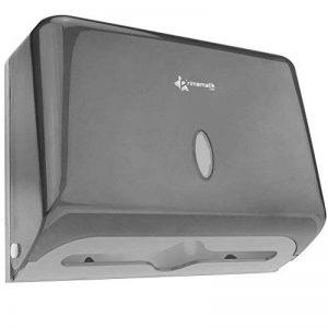 PrimeMatik - Distributeur d'essuie-Mains en Papier de Couleur Noir de la marque PrimeMatik-com image 0 produit