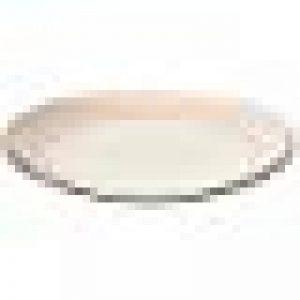 ProCook Polperro - Grande Assiette en grés Motif Rayures 27cm - Couleur pêche de la marque ProCook image 0 produit