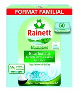 Rainett 50 Tablettes Lave Vaisselle - Tout en 1 - Ecologique de la marque Rainett image 0 produit