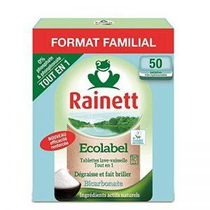 Rainett - Lave Vaisselle Au Bicarbonate 1Kg - Lot De 3 - Prix Du Lot - Livraison Rapide En France Métropolitaine Sous 3 Jours Ouverts de la marque Rainett image 0 produit