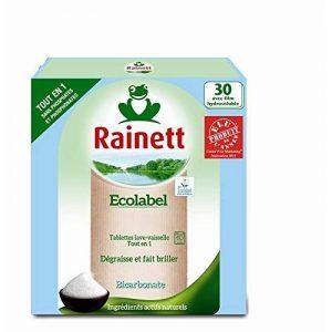 Rainett - Tablettes Tout En Un Écolabel Au Bicarbonate 600G - Lot De 3 - Prix Du Lot - Livraison Rapide En France Métropolitaine Sous 3 Jours Ouverts de la marque Rainett image 0 produit