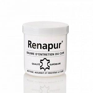 Renapur Baume d'entretien pour le cuir 220ML + 2 éponges de la marque Renapur image 0 produit