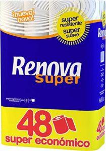 Renova papier toilette blanc–48rouleaux de la marque Renova image 0 produit