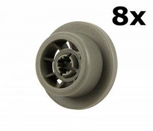 Roulettes pour panier inférieur dans lave-vaisselle | Contenu:lot de 8 | Idéales pour Siemens, Bosch, Neff, etc. | de McFilter de la marque McFilter image 0 produit
