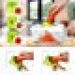 Sedhoom Mandoline Multifonctions 23pcs Coupe Legume des Decoupe legumes Rapidement et Uniformément de la marque Sedhoom image 2 produit