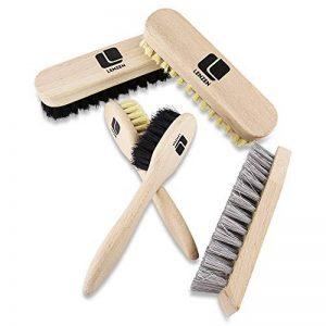 Set de brosses à chaussures, y compris 5 pièces: 2 brosses de polissage, 2 brosses pour appliquer le cirage, 1 brosse dure de la marque Lenzen image 0 produit