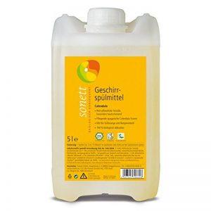 Sonett Liquide vaisselle Calendula : pour le lavage de la main, tensioactifs végétaux, particulièrement doux pour la peau 5 l de la marque Sonett image 0 produit