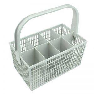 SPARES2GO Panier à couverts pour lave-vaisselle Zanussi (blanc, 237x137x122mm) de la marque Spares2go image 0 produit