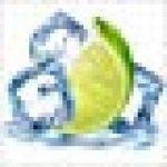 Sticker Cuisine Lave Vaisselle Glaçons Citron vert 60x60cm SLV1073 (Fond Blanc) de la marque PPA-DESIGN image 1 produit