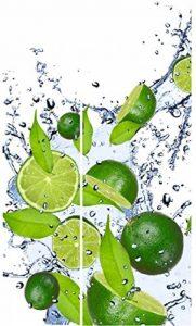 Sticker Frigo Americain Cuisine 100x180cm SAFRA0138 Citron Vert de la marque PPA-DESIGN image 0 produit
