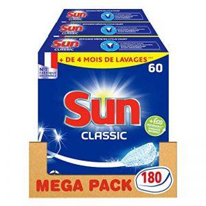 Sun Tablettes Lave-Vaisselle Classique 180 Lavages (Lot de 3x60 Lavages) de la marque Sun image 0 produit