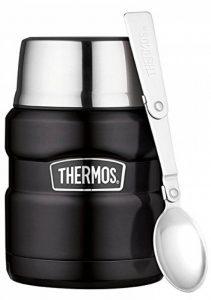 Thermos Porte-Aliments en Acier Inoxydable-470ML, Acier Inoxydable, Noir Mat, 0,47 l de la marque Thermos image 0 produit