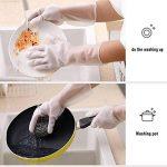 UCYG Gants Kitchen Plus Vaisselle Velvet, Laver Le Linge Imperméable Durable Housework, Nitrile d'hiver Gants Chauds 2 Paires (Color : B, Size : S) de la marque UCYG image 1 produit
