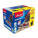 Vileda - UltraMax Power 2en1 - Set Complet Balai à Plat Microfibre + Seau-Essoreur de la marque Vileda image 1 produit
