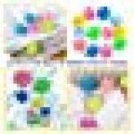WENTS Balles de Séchage 6PCS sèche-Linge balles pour Lave-Linge/Boule de Lavage Boules réutilisables de Lavage de Machine à Laver pour Le Nettoyage des vêtements - aléatoire Combinaison de Couleurs de la marque WENTS image 1 produit