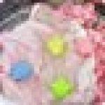 WENTS Balles de Séchage 6PCS sèche-Linge balles pour Lave-Linge/Boule de Lavage Boules réutilisables de Lavage de Machine à Laver pour Le Nettoyage des vêtements - aléatoire Combinaison de Couleurs de la marque WENTS image 3 produit