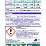 XTRA Total - Lessive Liquide - 80 Lavages (Maxi Format - 4L) de la marque Xtra image 1 produit