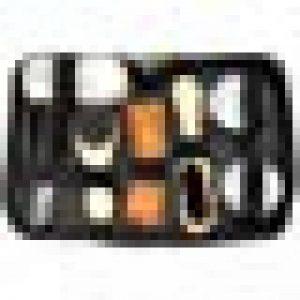 YAHUA LI Trousse de Soin pour cireuses, brosses de Nettoyage polonais, Chiffon éponge, Ensemble de Voyage avec étui, étui Portable, Outil de Polissage Neutre, Noir de la marque YAHUA LI image 0 produit