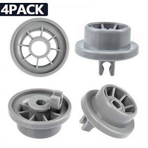 YOTINO Lot de 4 Roulettes de Lave-vaisselle pour Panier Inférieur, Roues de Lave-vaisselle pour Siemens, Bosch 165314 de la marque YOTINO image 0 produit