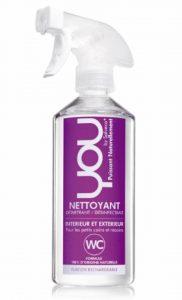 YOU - Spray Ecologique Détartrant Désinfectant WC - 500 ml - Lot de 4 de la marque YOU image 0 produit